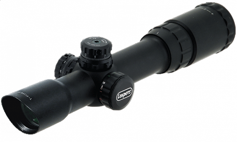 ������ Leapers Accushot Tactical 1-4x24 Circle Dot, �����., ������ (SCP3-1424CDQ)
