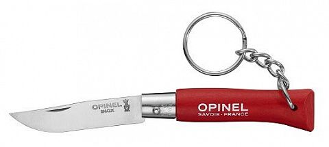 Нож Opinel серии Tradition Keyring №04, нерж.сталь (002055)